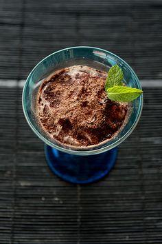 Ancho chili chocolate mouse  Mexican food.   Deserts   Postres mexicanos   comida mexicana
