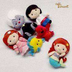 Apostila Pequena Sereia Pocket. Adquira a sua na loja oficial (clique em visitar ou acesse www.timart.com.br)