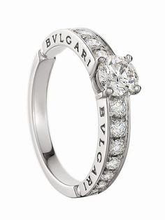 Engagement Bulgari ring