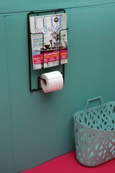 WC-Rollenhalter & Zeitschriftenhalter RollMag: Amazon.de: Küche & Haushalt