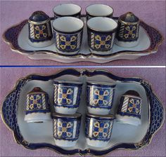 RARE Royal Winton Imari Egg Cup Salt Pepper Cruet Set on Plate Stand Vintage | eBay