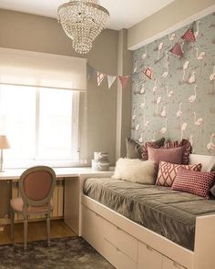 Regarding the subject, for today, we have chosen some really cute examples of Tiny Bedroom Ideas That Have Charming Spirit. So, let us repeat, Room Inspiration, Room Design, Dream Rooms, Bedroom Decor, Girl Bedroom Designs, Tiny Bedroom, Bedroom Design, Home Bedroom, Room