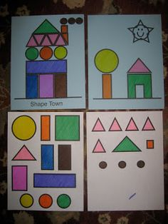 Toddler Approved!: Mom Project: Shape Town