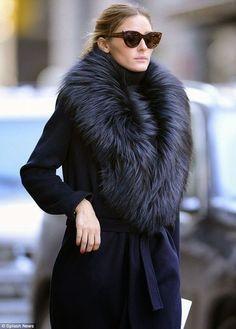 Olivia Palermo winter style