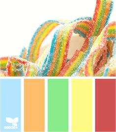 sugared spectrum. This would be such a cute color scheme for a kids room!!