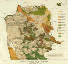 geological map of sf