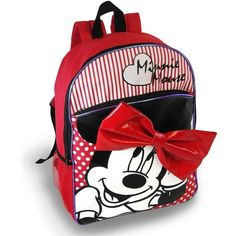 Disney Minnie Mouse Backpack Kids ($15) ❤ liked on Polyvore
