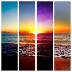 Great sunset photos on the beach Summer Sunset, To Infinity And Beyond, Am Meer, Pics Art, Summer Of Love, Summer 3, Summer Colors, Belle Photo, Pretty Pictures