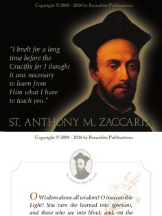 I'm reading St. Anthony Mary Zaccaria Calendar - March  on Scribd