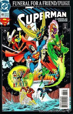 SUPERMAN #83, DC COMICS, 1.993, USA.