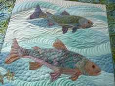 Sewing & Quilt Gallery: Fishies by Margaret of Quilts of Love