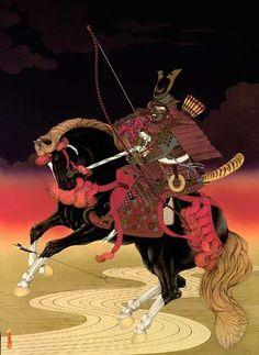 """SAKANOUYE TAMURAMARO -BLACK SHOGUN OF JAPAN   """"For a Samurai to be brave he must have a bit of Black blood"""" -Japanese Proverb"""