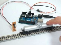 Arduino Controlled Model Trains: Train Detector Module with IR Train Ho, Trains For Sale, Standard Gauge, Ho Trains, Ho Model Trains, Train Engines, Model Train Layouts, Classic Toys, Antique Toys