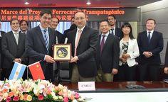 CRÓNICA FERROVIARIA: Ferrocarril Transpatagónico: Avanza el proyecto co...