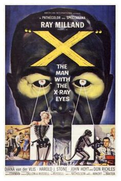 """""""x"""" the man with the x-ray eyes (1963)"""