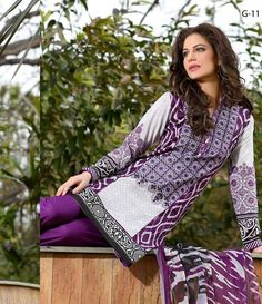 Gohar Embroidered Lawn Suits Collection G_11