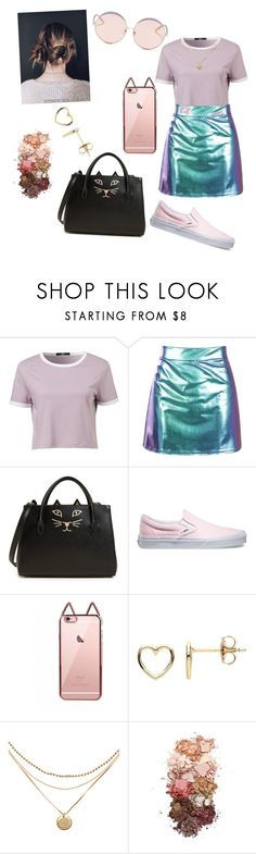 """Glowy"" by mathildepl07 on Polyvore featuring Charlotte Olympia, Vans, Estella Bartlett, Sigma and N°21"