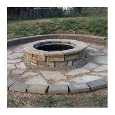 <strong>Natural Concrete Products Co</strong> Random Stone Fire Pit