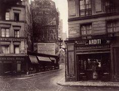 Ces photos qui font revivre le Paris d'autrefois : rue de la Montagne Ste-Geneviève v° arrondissement (1925)