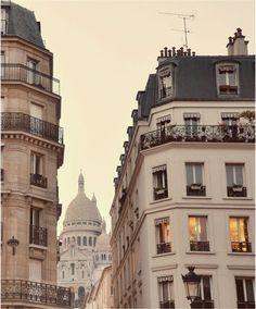 Encantado - Paris Grabado de fotografía de paisaje