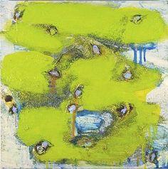 joan snyder: narrative painting. Cloud Garden. 2003.