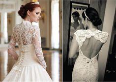 Fotos de vestidos de novia de encajes