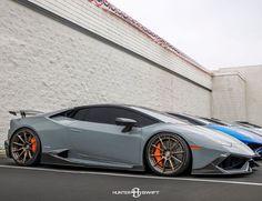 "1,737 Likes, 10 Comments - www.HuracanTalk.com (@huracantalk) on Instagram: ""That #Stance! @huracantalk member @signature_wheel_lambo Grigio Telesto Lamborghini Huracan with…"""