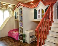Ev Şeklindeki Çocuk Yatakları,Odaları | Mobilya ve Ev Dekarasyonu