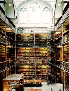 Rijkmuseum Library, Amsterdam.  Candida Hoffer.  My dream