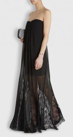 love this black dress - super elegant!