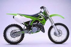 Kawasaki-KX-125. My First Dirt Bike.