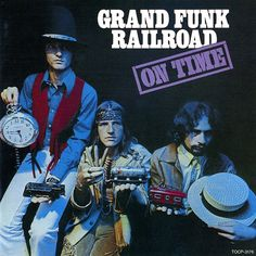 Carátula Frontal de Grand Funk Railroad - On Time