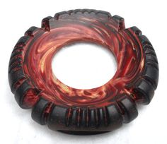American Trade Bead  New Hampshire  Wheel bead . Solid by hwcglass