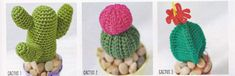 Crochet Cactus Pattern. More Patterns Like This!