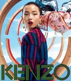 Xiao Wen Ju for Kenzo Accessories, Fall 2012.  Photographed by Frederik Heyman.