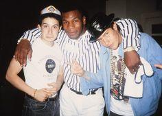 Adam Horovitz, Mike Tyson and Michael Diamond