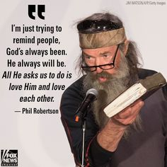 """""""Duck Dynasty"""" star Phil Robertson joined Shannon Bream on """"Fox News @ Night"""" to discuss his new book, """"The Theft of America's Soul. Duck Dynasty Sadie, Duck Dynasty Family, Robertson Family, Sadie Robertson, Psych Memes, Memes Humor, Friday Humor, Funny Friday, Love Quotes For Girlfriend"""