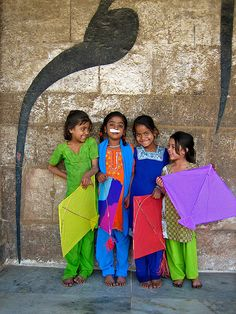 Children of India by Meena Kadri