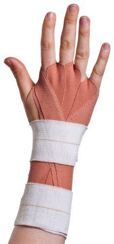 Step 8 Advanced Wrist Taping