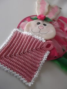 Apple Blossom Dreams: Pattern for Lolly Pattern for dishcloth or hot pad