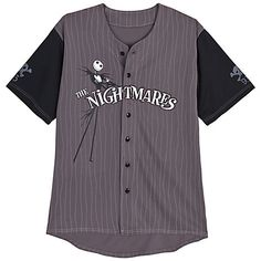 Jack Skellington Baseball Jersey The Nightmare Before Christmas Disney Parks L in Clothing, Shoes & Accessories, Unisex Clothing, Shoes & Accs, Unisex Adult Clothing Disney Shirts For Men, Casual Shirts For Men, Jack The Pumpkin King, Scene Outfits, Baseball Shirts, Baseball Quotes, Disney Outfits, Disney Clothes, Christmas Shopping
