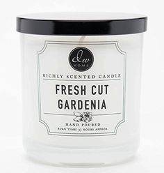 DW Home Fresh Cut Gardenia Scented 9.69 oz. Single Wick Candle ** Want to know more, click on the image.