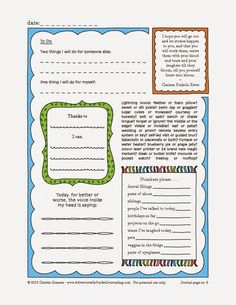 Adventures in Guided Journaling: Printable Journal Pages (Upper Grades)
