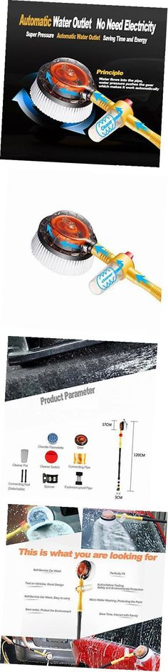 Cleaning Products 20605: Car Pressure Washer Rotating Wash Brush Vehicle Care Washing Sponge Cleaning -> BUY IT NOW ONLY: $69.49 on eBay!