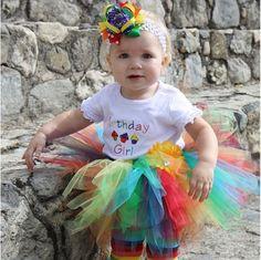 rainbow tutu