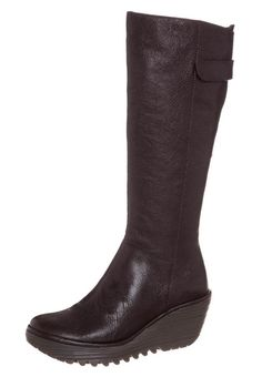Fly London YOA Platform boots brown
