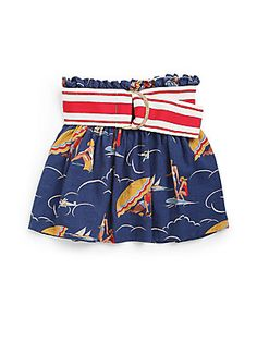 Ralph Lauren Toddler's & Little Girl's Seaside Print Skirt