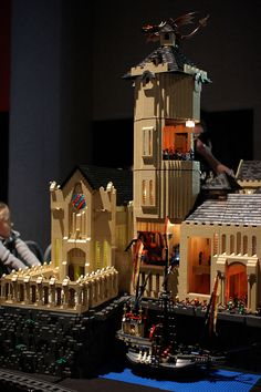 Ecribouille: Harry Potter in Lego from a french exhibition of...