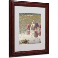 Trademark Fine Art For Eighty Pennies Canvas Art by Angelo Morbelli, Wood Frame, Size: 16 x 20, Multicolor