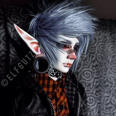 ☀ cut open my sternum and pull ☀ Pretty Dolls, Beautiful Dolls, Cute Emo Boys, Kawaii Doll, Creature Drawings, Monster High Repaint, Asian Doll, Anime Dolls, Doll Costume